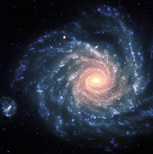 This spectacular image of the large spiral galaxy NGC 1232 was obtained by the European Southern Observatory's Very Large Telescope (VLT) in 1998. NGC 1232 sits in the constellation Eridanus (The River) at a distance of about 100 million light-years and is about twice the size of the Milky Way galaxy.