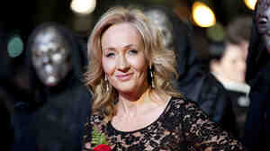 Author J.K. Rowling arrives at the world premiere of Harry Potter and the Deathly Hallows, in Leicester Square in central London.