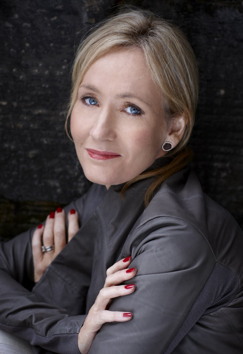 jk rowling author biography