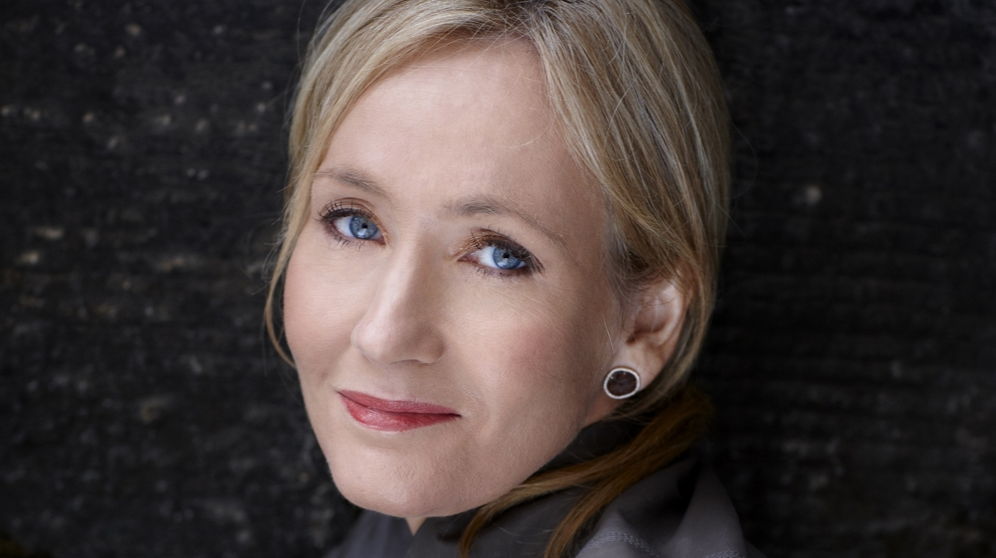 author interview  jk rowling