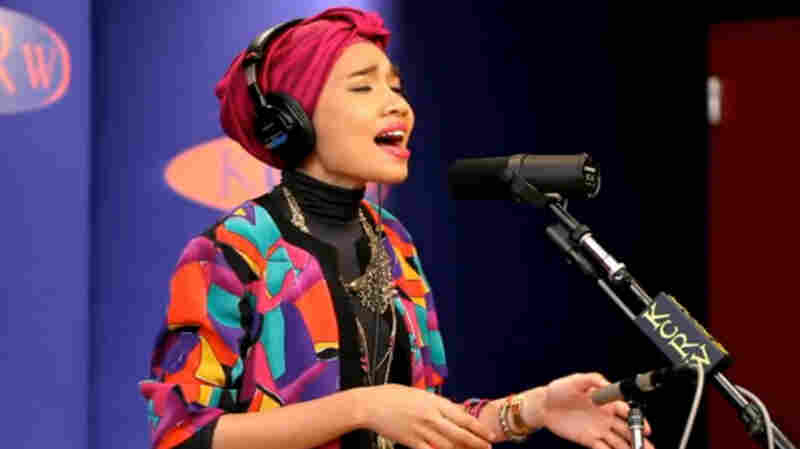 Yuna performs in studio at KCRW.