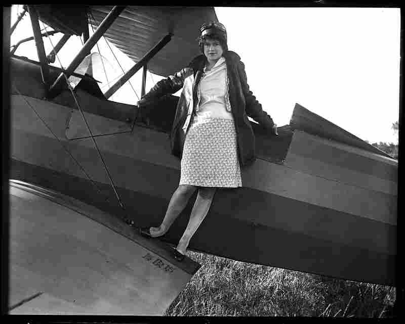 "Elizabeth Skadden, 18, wanted to become an endurance flyer when she was featured in the State Journal on Oct. 6, 1929. Her dreams may have been inspired by Charles Lindbergh, who just two years earlier made his famous nonstop flight across the Atlantic. ""Just as soon as my chance comes, I hope to set a new endurance record for women flyers which will stand for a long, long time."""