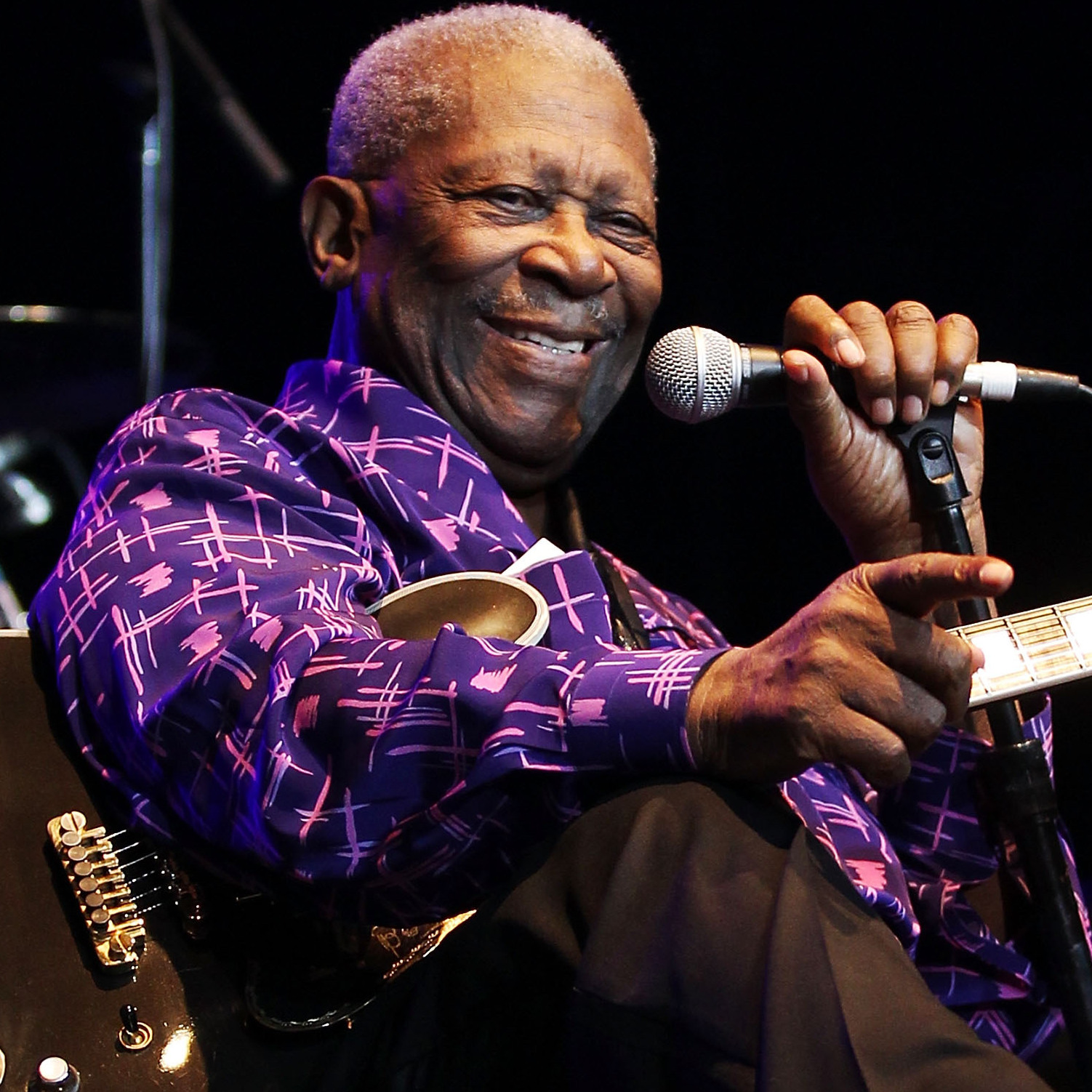 B.B. King, a Mississippi native and blues master.