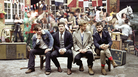 Mumford & Sons is led by singer Marcus Mumford (second from left). The band's second album, Babel, was released on Sept. 25 and is on pace to be the highest-selling debut of 2012.