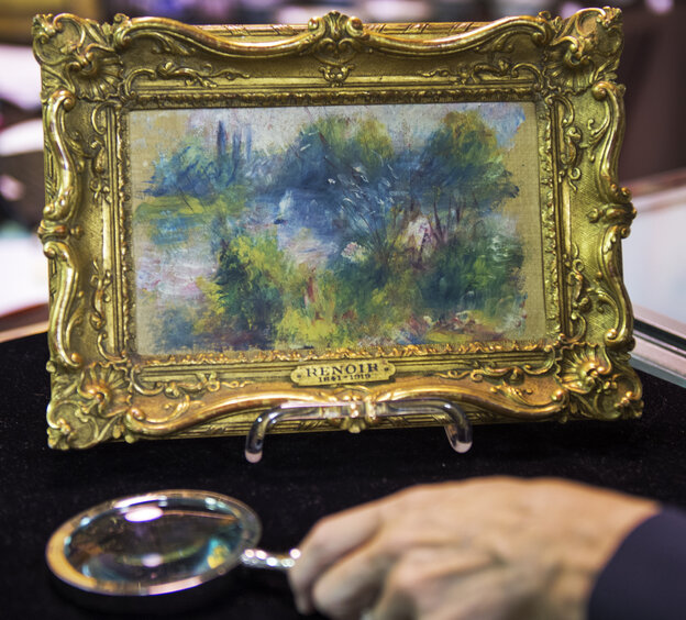 This weekend's auction of a flea-market find that turned out to be a work by French Impressionist master Pierre-Auguste Renoi