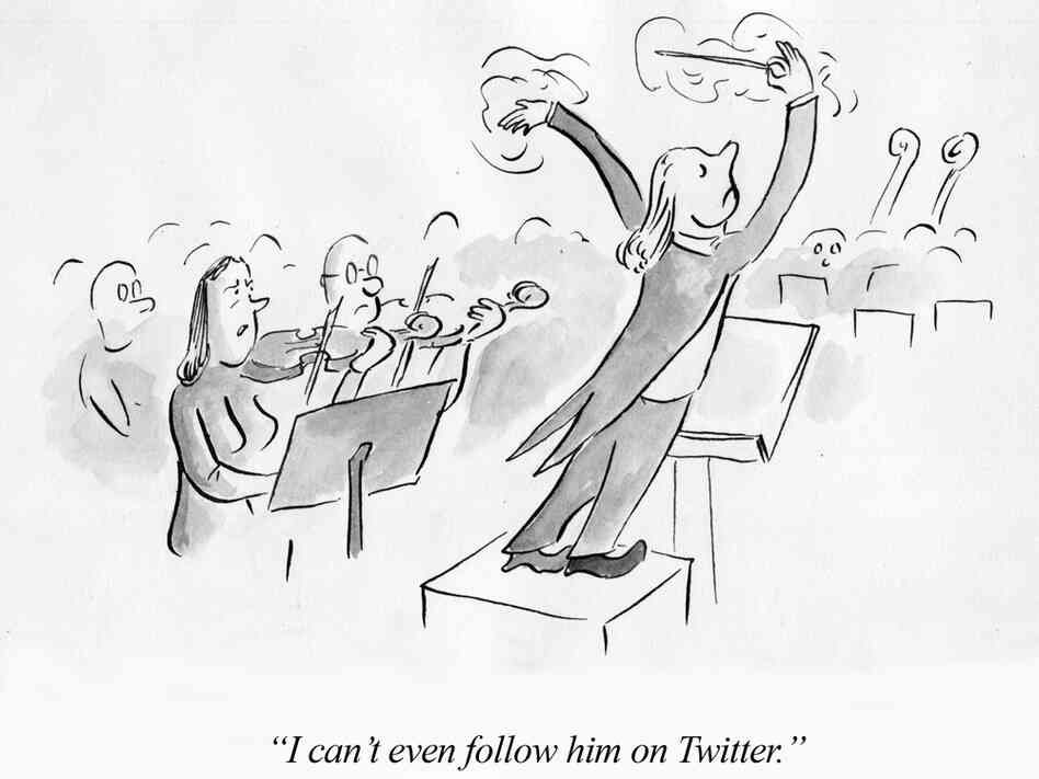 """I can't even follow him on twitter."""