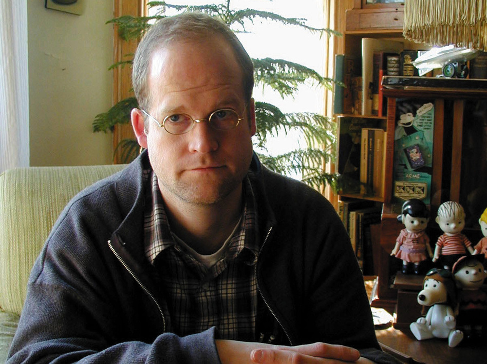Chris Ware is a comic book artist and cartoonist. He is best known for his Acme Novelty Library series and for Jimmy Corrigan: The Smartest Kid On Earth. (Pantheon)