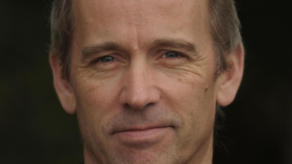 Author Jasper Fforde is best known for his Thursday Next series of literary fantasies. The Last Dragonslayer is his first book for younger readers. (Courtesy of Harcourt)