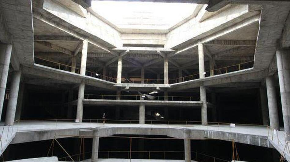 Koryo Tours says this is where the hotel's main dining room will be.