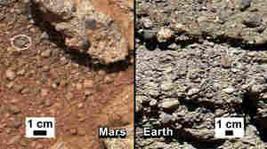 NASA's Curiosity Finds Water Once Flowed On Mars
