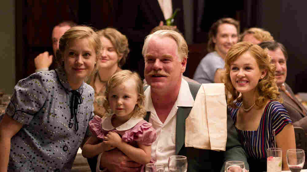 Amy Adams has played a fairy tale princess, a pal of the Muppets, and a curious home cook. She's currently playing Peggy Dodd (left), the wife of a charismatic cult leader, in the critically acclaimed film The Master.