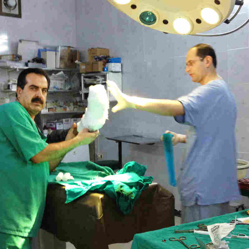 Syrian-American Doctors Head To The Battle Zone