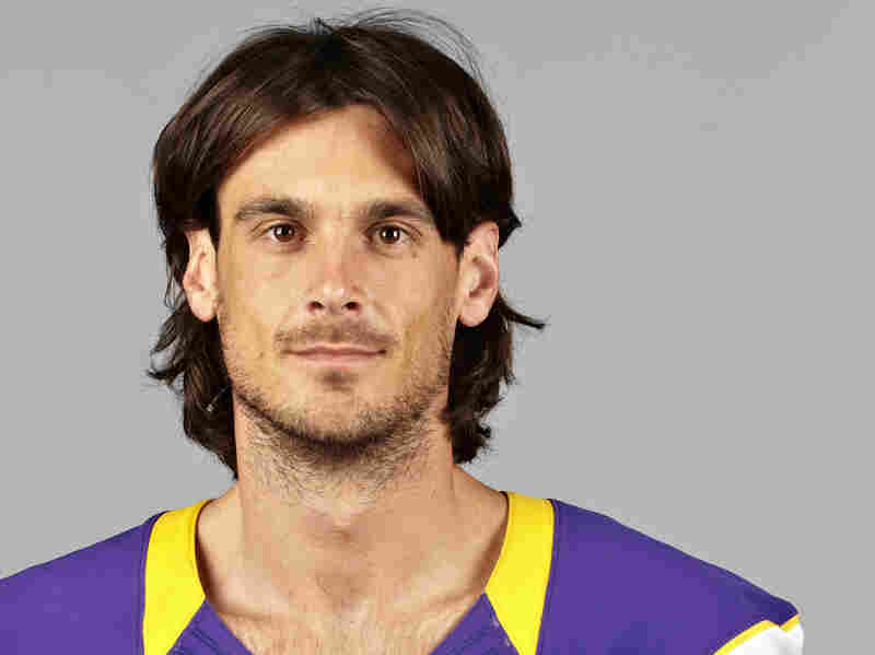 Chris Kluwe of the Minnesota Vikings, shown in 2012.