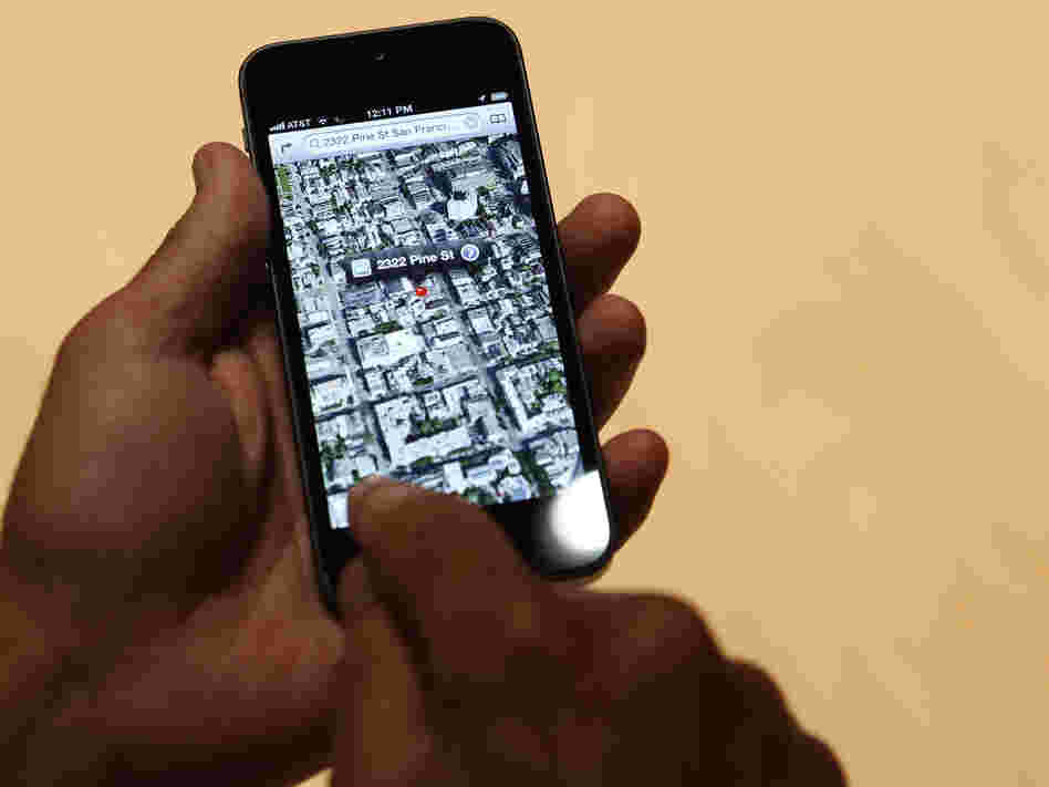 Will it take you where you want to go? A new iPhone 5 and Apple's new mapping software.