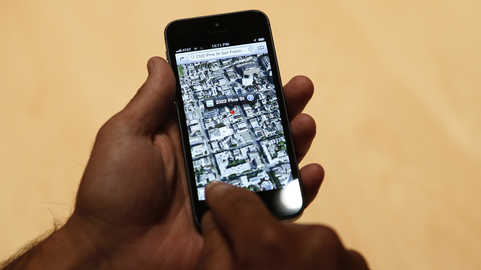 Will it take you where you want to go? A new iPhone 5 and Apple's new mapping software. (Reuters /Landov)