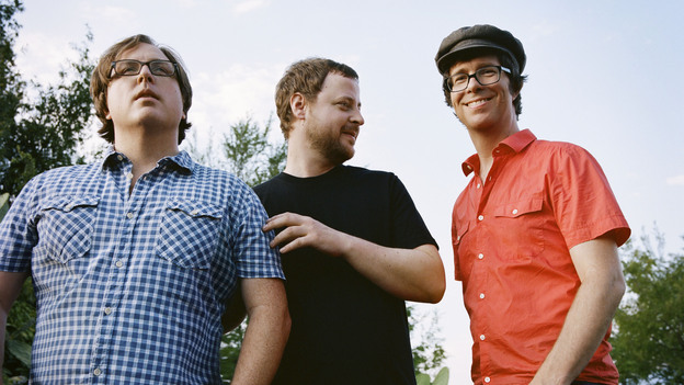 Ben Folds Five (from left): Robert Sledge, Darren Jessee and Ben Folds. (Courtesy of the artist)
