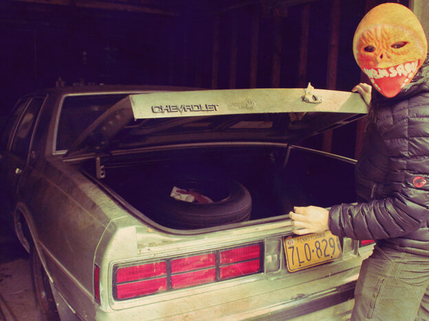 Tobacco (a.k.a. Tom Fec), frontman for Black Moth Super Rainbow, wants to show you something in the trunk.