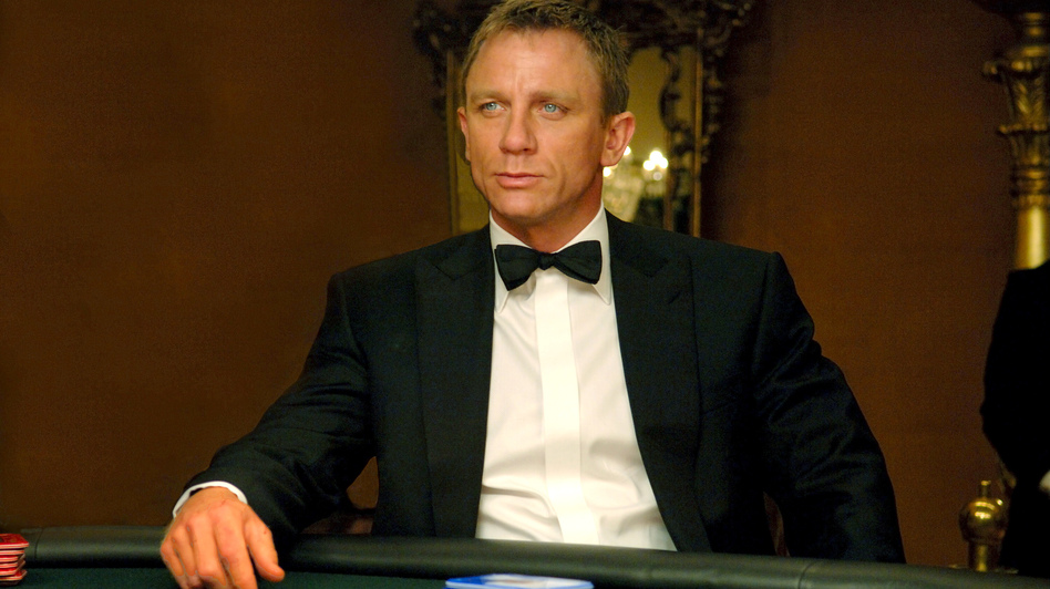 Daniel Craig plays James Bond in <em>Skyfall</em>, the 23rd film in the Bond franchise. Cast your vote this week on which actor was the best at being Bond.