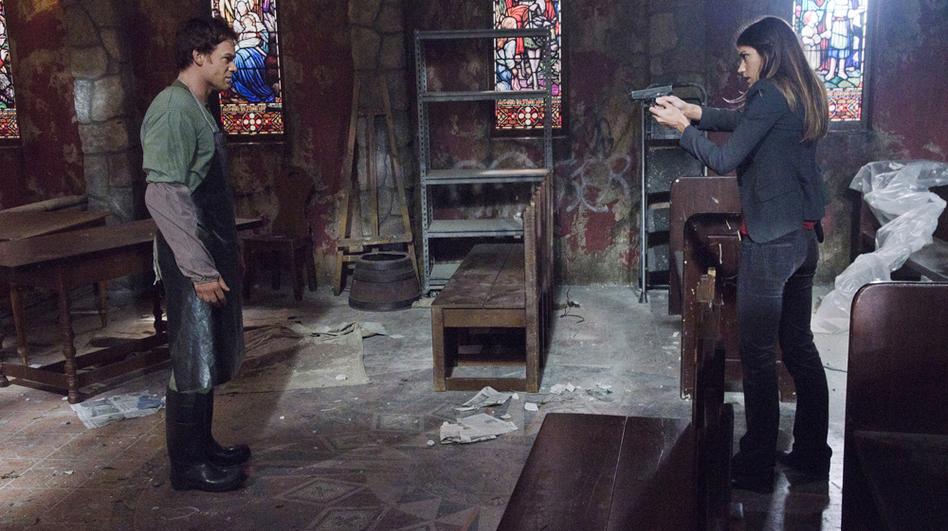 Dexter's seventh season picks up where season six left off: with Debra Morgan (Jennifer Carpenter) discovering her brother Dexter's (Michael C. Hall) murderous secret. (Showtime)