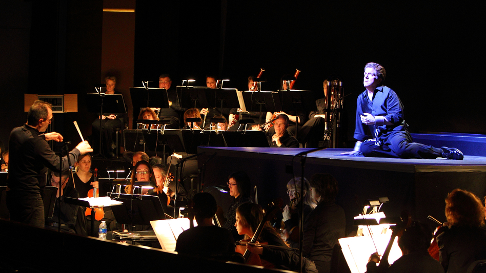 The Dayton Opera and Dayton Philharmonic Orchestra perform Beethoven's <em>Fidelio</em> in January 2011 at the Benjamin and Maria Schuster Performing Arts Center in Dayton, Ohio.