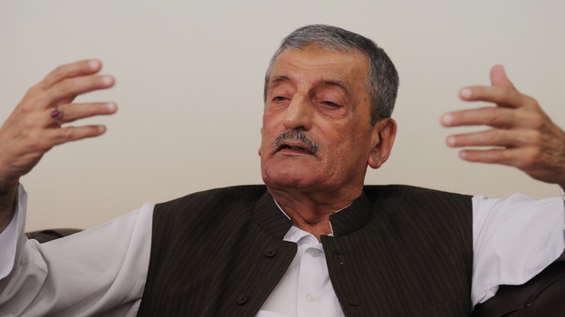 """Ghulam Ahmed Bilour, Pakistan's railways minister, has offered $100,000 for the death of a filmmaker who produced an anti-Islam movie. He says it's the """"only way"""" to stop insults to the Prophet Muhammad. (AFP/Getty Images)"""