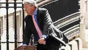 British Cabinet Minister Andrew Mitchell is accused of denigrating a police officer during an altercation over his bicycle.