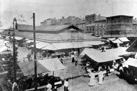 Lexington Market in Baltimore, Md., is more than 200 years old. General John Eager Howard, who fought in the American Revolution, donated the land for the market to the city.