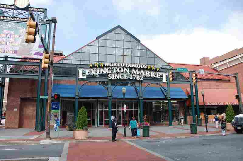 After a fire destroyed the old Lexington Market in Baltimore 1949, the city rebuilt it. Today, the market houses 140 merchants and developers are preparing it for another major renovation.