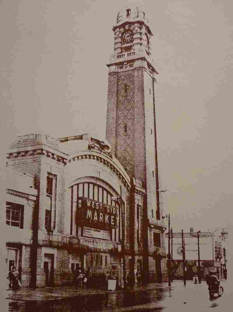 Cleveland Ohio's West Side Market began in 1840 as an open air market on land donated by Josiah Barber and Richard Lord, who were two of the first property owners and mayors of the city's oldest neighborhood. The market was renovated in 2004.