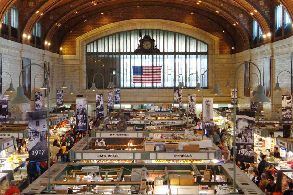 Today, the Cleveland West Side Market is a space for 100 vendors opportunities t