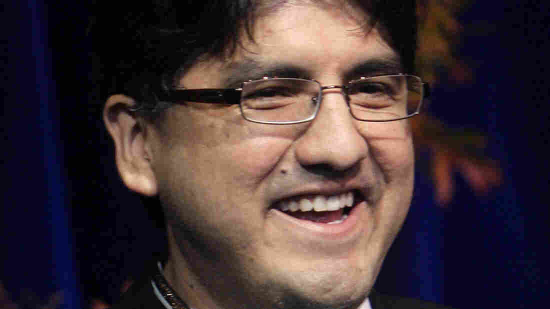 Author and Spokane Indian Sherman Alexie won the American Book Award in 1996 for Reservation Blues.