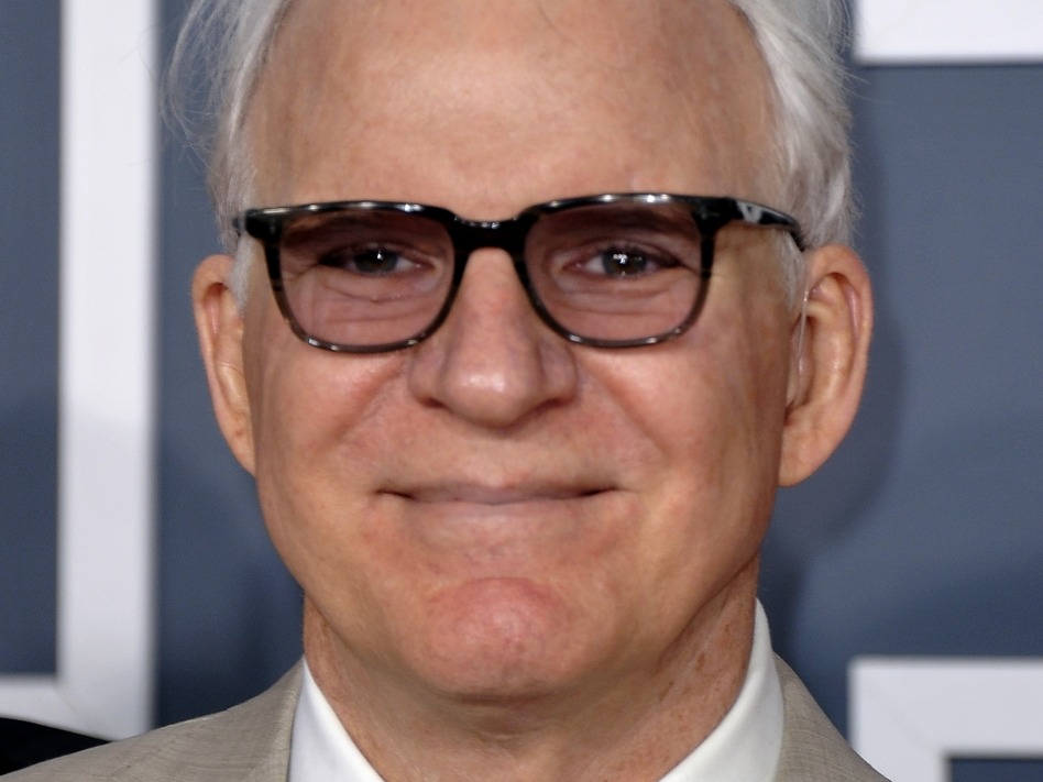 Steve Martin at the Grammy Awards in Los Angeles in February.