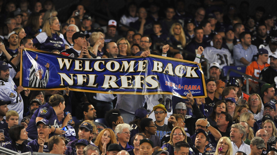 In Baltimore, fans made their feelings clear Thursday night. (Getty Images)