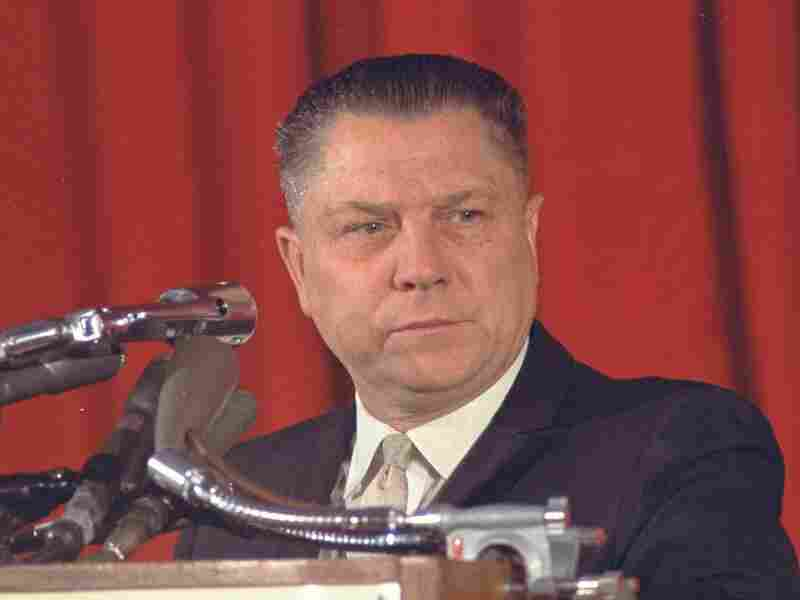 James Hoffa was last seen in the parking lot of a Detroit restaurant in 1975