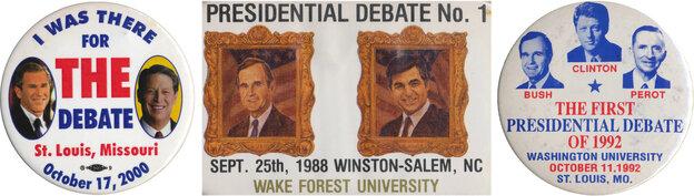 debate buttons