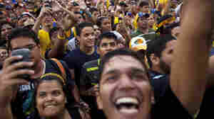 Venezuela's Young Voters Courted Heavily In Election