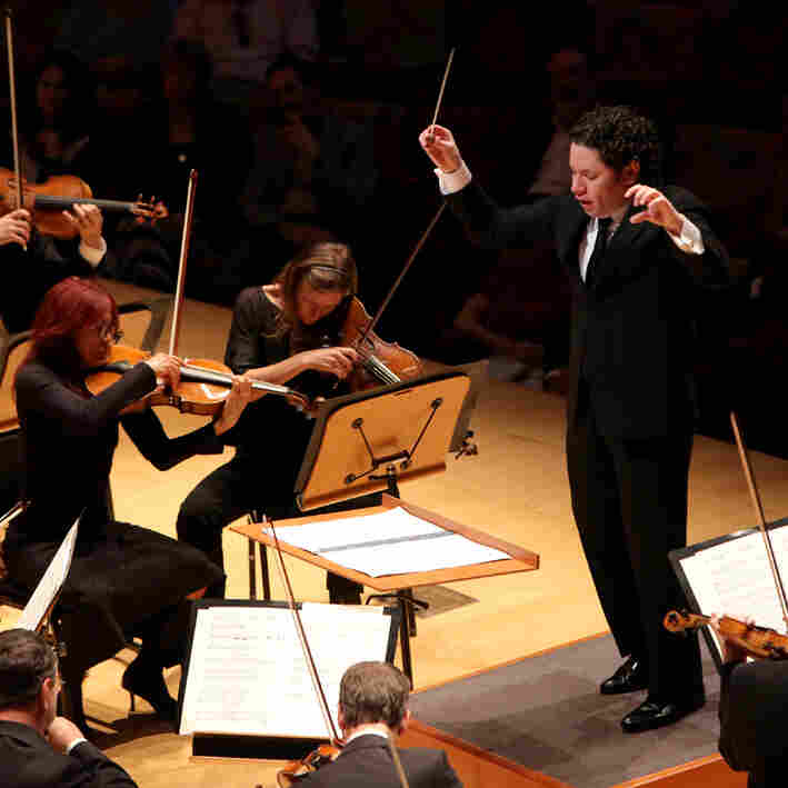 Gustavo Dudamel Conducts 'The Rite Of Spring' In Concert
