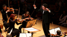 Conductor Gustavo Dudamel leads his forces through a vibrant opening-weekend performance of Stravinsky, Stucky and Ravel on Sept. 30, 2012.