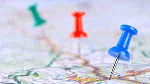 A tourist map.