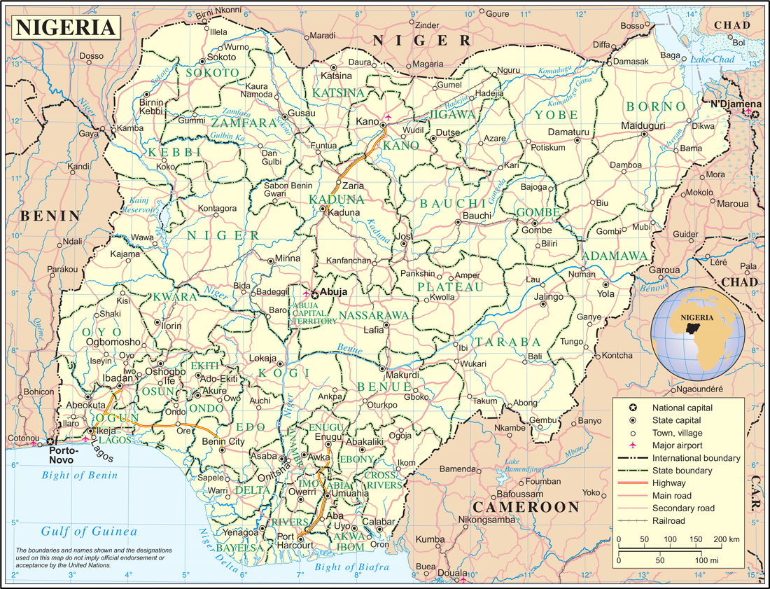 Zamfara state, site of gold ore laced with lead, is located in northern Nigeria.