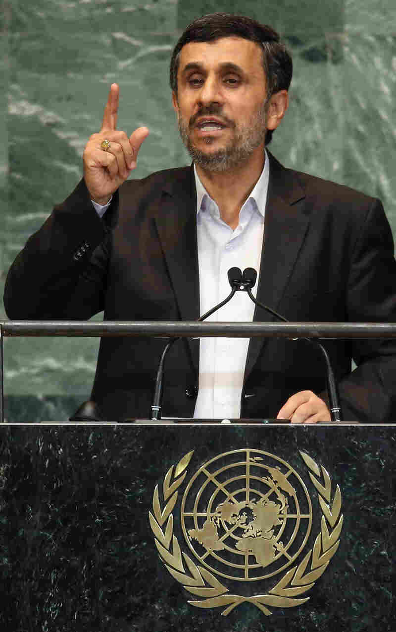 The Iranian cameraman who was part of President Mahmoud Ahmadinejad's delegation to the U.N. last week is now seeking asylum, a lawyer says.