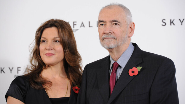 Siblings Barbara Broccoli and Michael G. Wilson have been working on James Bond films since the 1970s. They are the producers of the latest installment, Skyfall. (Getty Images)