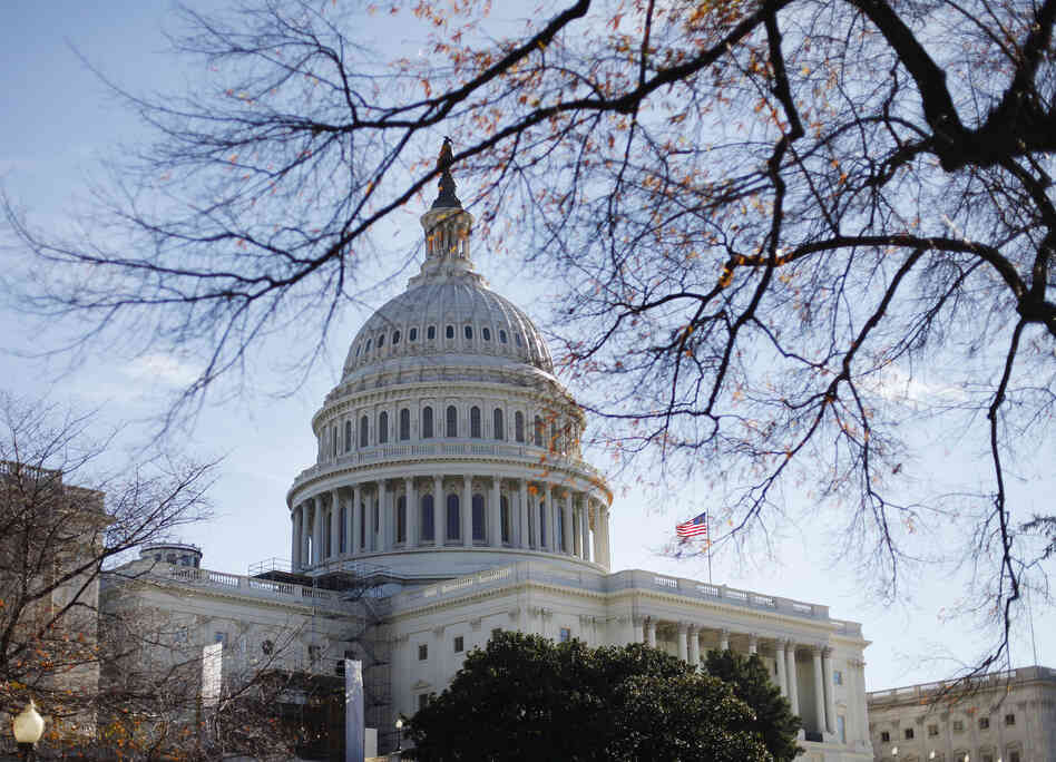 In this Nov. 19, 2011 fie photo the U.S. Capitol building is seen in Washington.