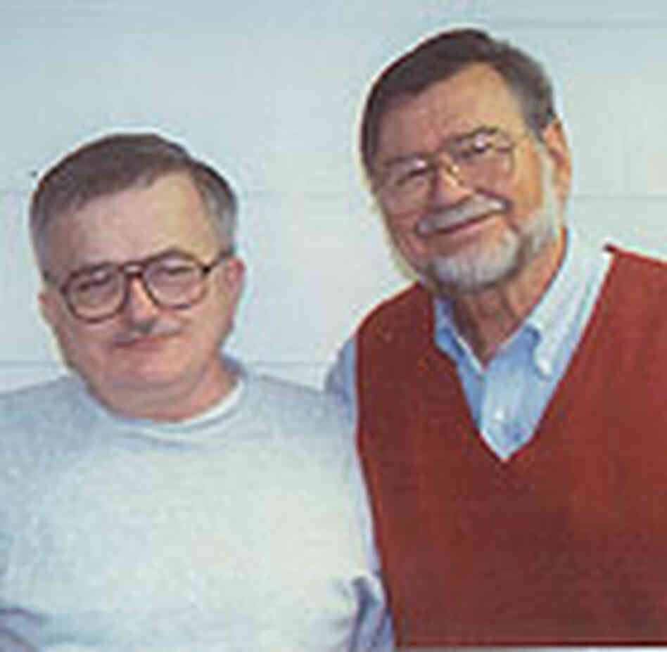 Richard Lapointe (left) and Bob Perske.
