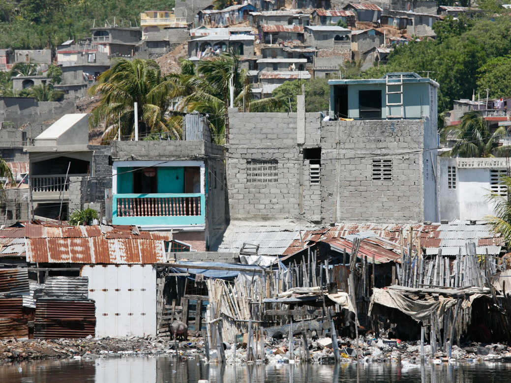 In Haiti, it's estimated that 80 percent of the population is unemployed. Many children are malnourished.
