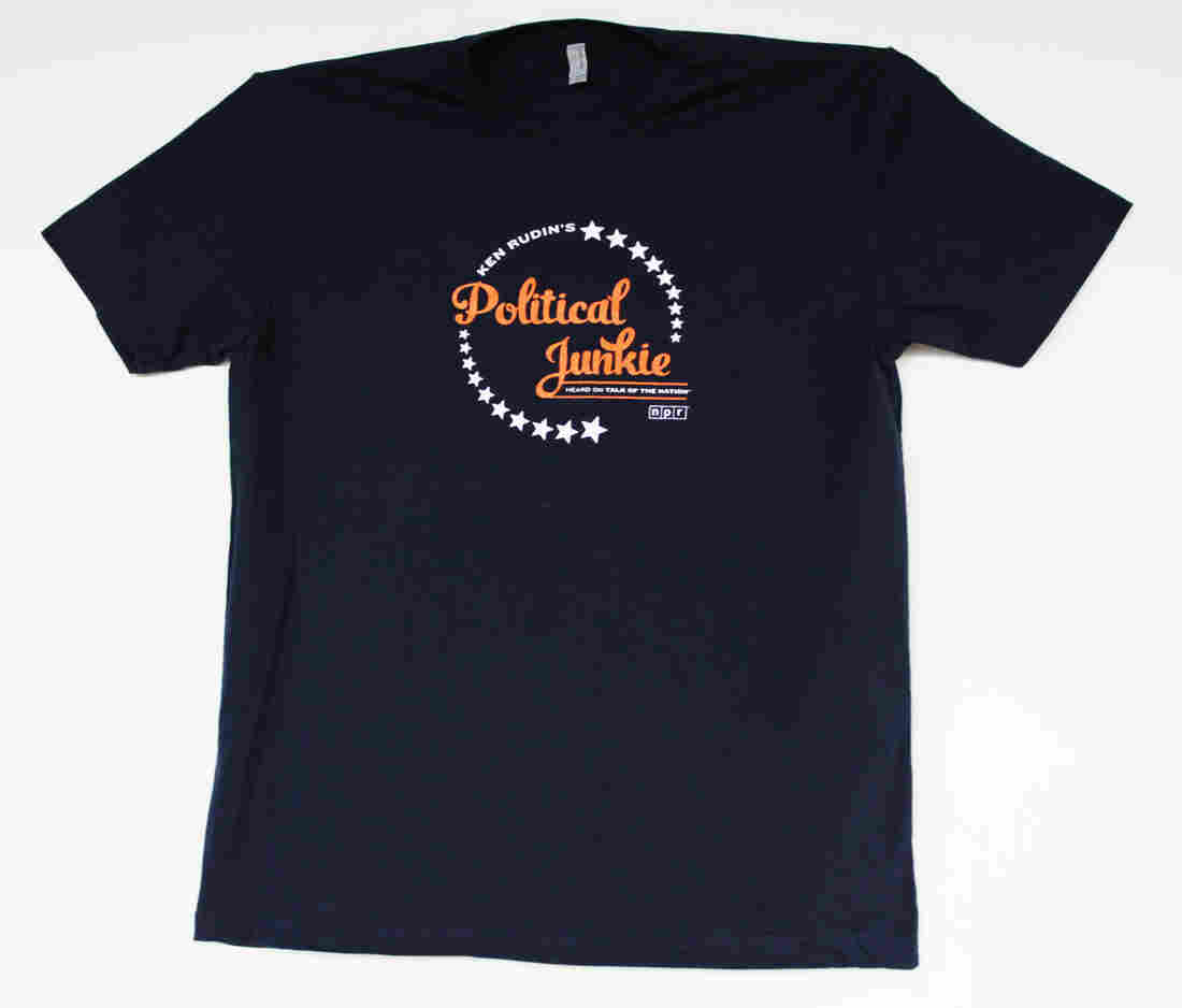 Political Junkie t-shirt