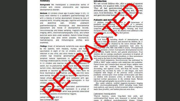 A study shows less than a quarter of retractions were the result of honest errors. (The Lancet)