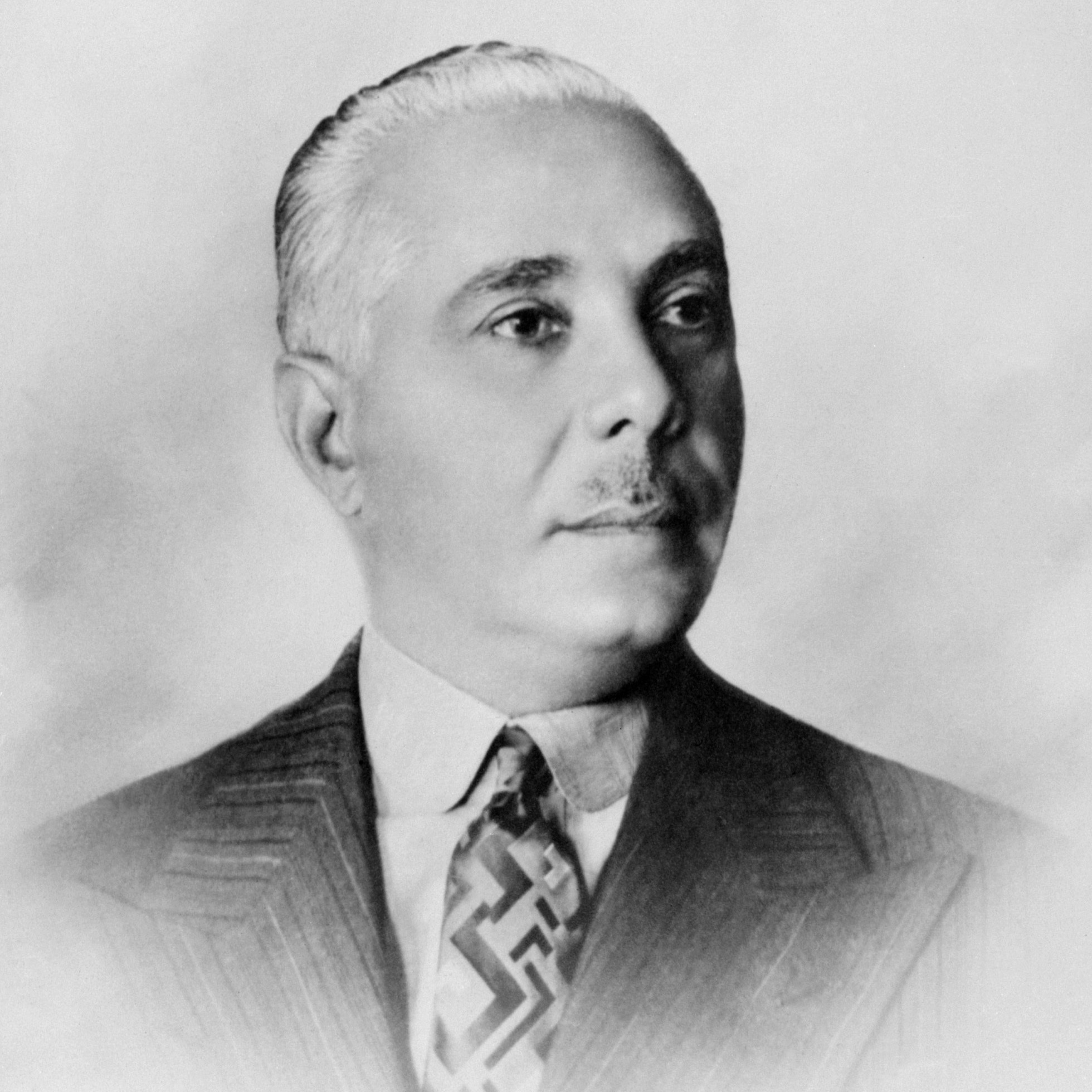 Domician Republic dictator  Rafael Trujillo, in a portrait taken in the 1950s.