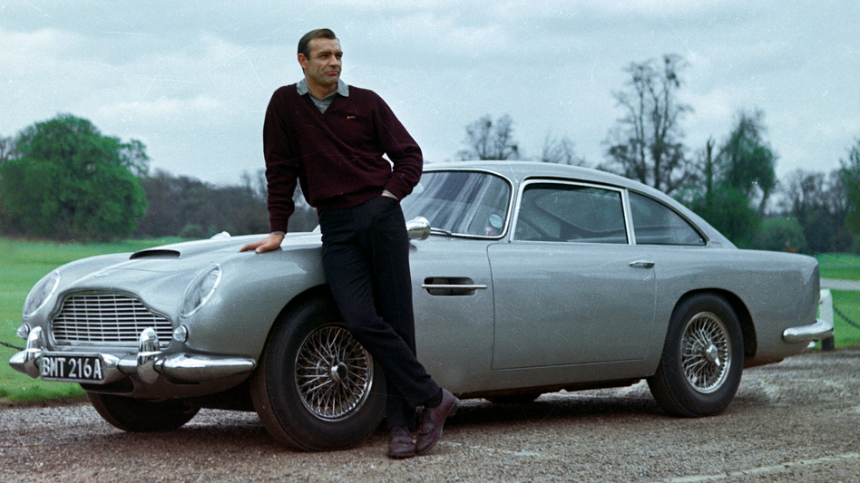 The Gold Standard: In NPR's survey, most readers chose Sean Connery (above, in Goldfinger), as the best James Bond. Daniel Craig placed second in our survey. (The Kobal Collection)