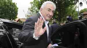 Former International Monetary Fund chief Dominique Strauss-Kahn.